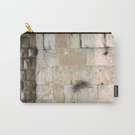 Jerusalem - The Western Wall - Kotel #3 Carry-All Pouch