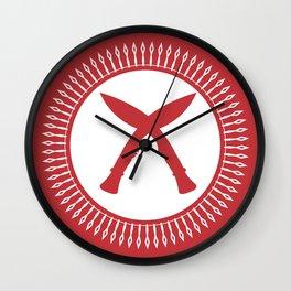 Khukuri Wall Clock