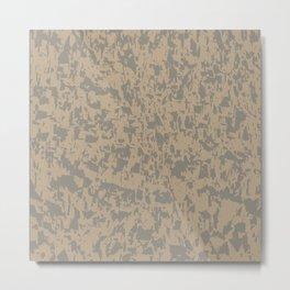 Marble Efect Grunge Background Metal Print