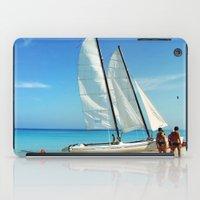 cuba iPad Cases featuring Cuba Beach by Parrish