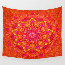 Symmetric composition 17 Wall Tapestry