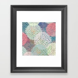 Abstract Floral Petals 3 Framed Art Print