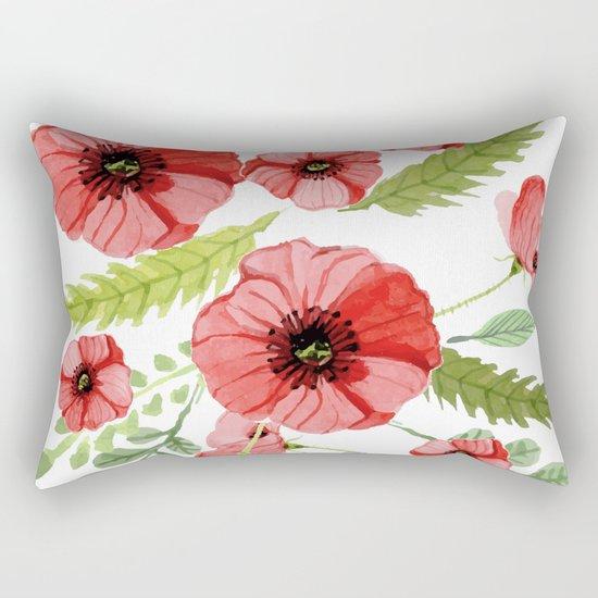 Flowers 110 Rectangular Pillow