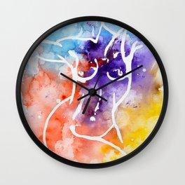 Inverse nude Wall Clock