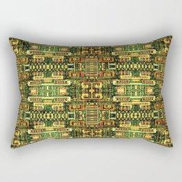 Circuit board v8 Rectangular Pillow