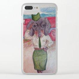 Schatzie Clear iPhone Case