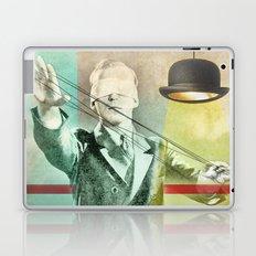 Blindfold bowler Laptop & iPad Skin