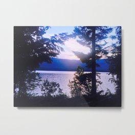 Montana: Lake MacDonald  Metal Print