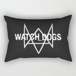 Watchdogs logo Rectangular Pillow