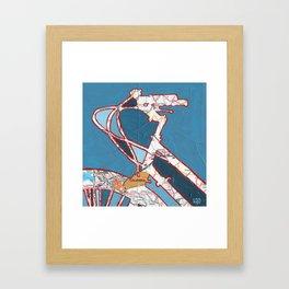 Bike Columbia South Carolina Framed Art Print
