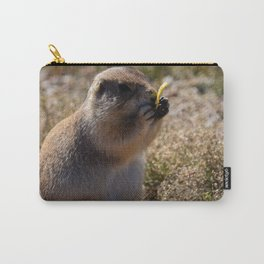 Prairie Dog Eating A Chip Carry-All Pouch