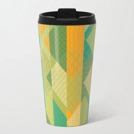 Grids, Lines, Squares Travel Mug