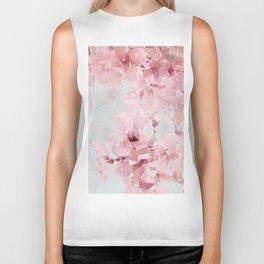 Meshed Up Sakura Blossoms Biker Tank