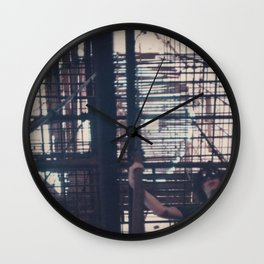 My Father's Travels III Wall Clock