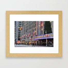 Radio City Music Hall, NYC Framed Art Print