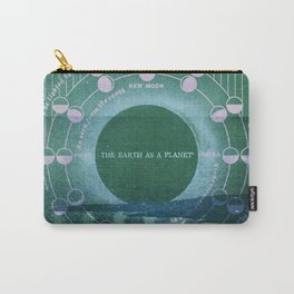 The Earth as a Planet Carry-All Pouch