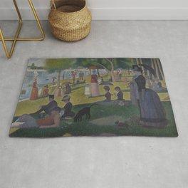 Georges Seurat - A Sunday on La Grande Jatte Rug