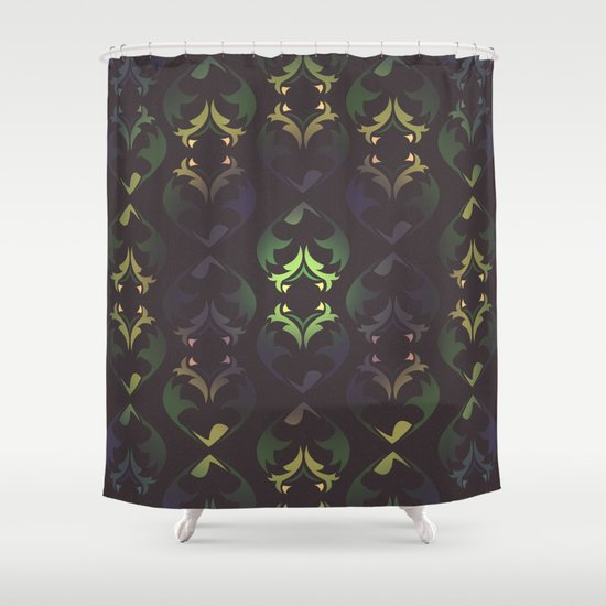 Heart Forest Shower Curtain