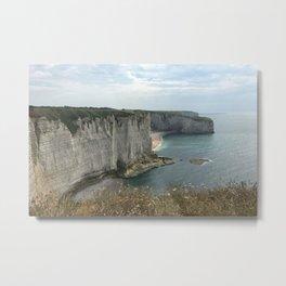 Etretat, France - Coastline Metal Print