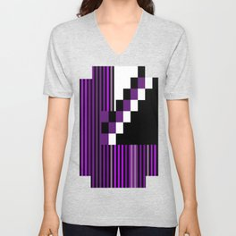Playing with Colors | Shapes Unisex V-Neck