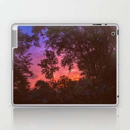 Sunset Trees Laptop & iPad Skin