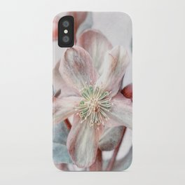 winter blossom iPhone Case