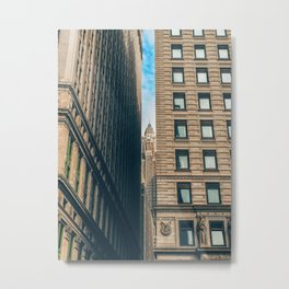 What is known as old Manhattan Metal Print