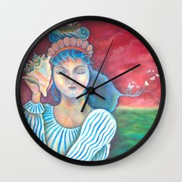 Lake Keeper Wall Clock