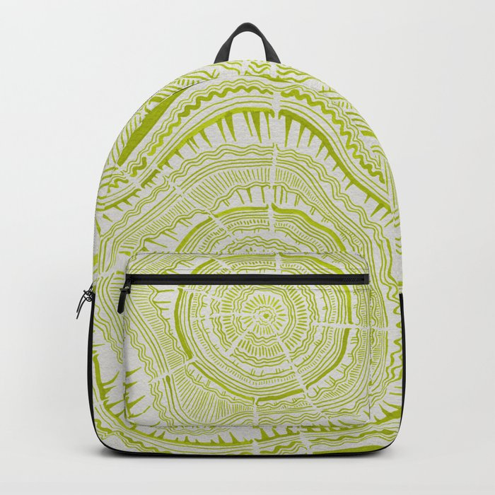 Lime Tree Rings Backpack