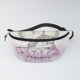 Lotus Buddha Fanny Pack