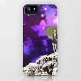 Lady in Space II iPhone Case