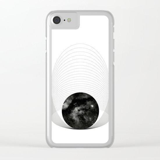 THE COSMIC WANDERERS Clear iPhone Case