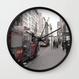 NYC fdny Wall Clock