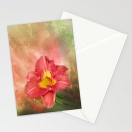 Beautiful day lily Stationery Cards