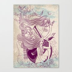 Music, Love, Peace Canvas Print