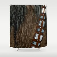 pilot Shower Curtains featuring Co-Pilot by BinaryGod.com