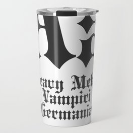 Classificazione: Blackletter Travel Mug