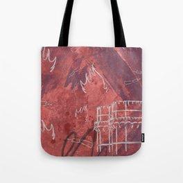 A la luna de Valencia  - Red Tote Bag