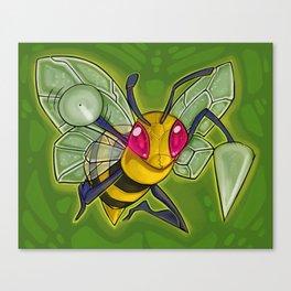 Bzz bzz! Canvas Print