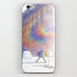 Backlight iPhone Skin