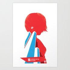Mirror's Edge Art Print