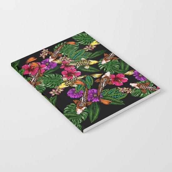 Tropical Koi Notebook