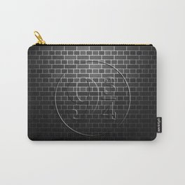Platform 9 3/4 Black Brick Wall Carry-All Pouch