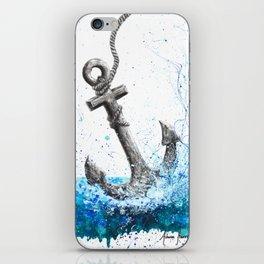 Sea Anchor iPhone Skin