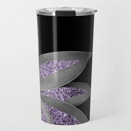 Agave Finesse Glitter Glam #3 #tropical #decor #art #society6 Travel Mug