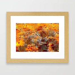 Atomic  Field Framed Art Print