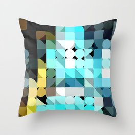 IceBlu Throw Pillow