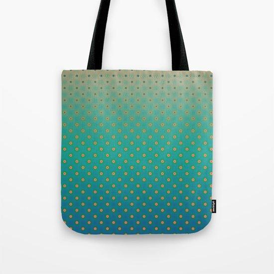 Polka Plankton Blue Tote Bag