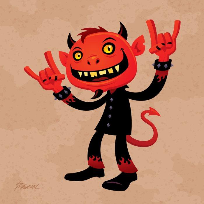 Heavy Metal Devil Comforters