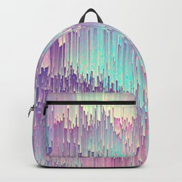 Iridescent Glitches Backpack